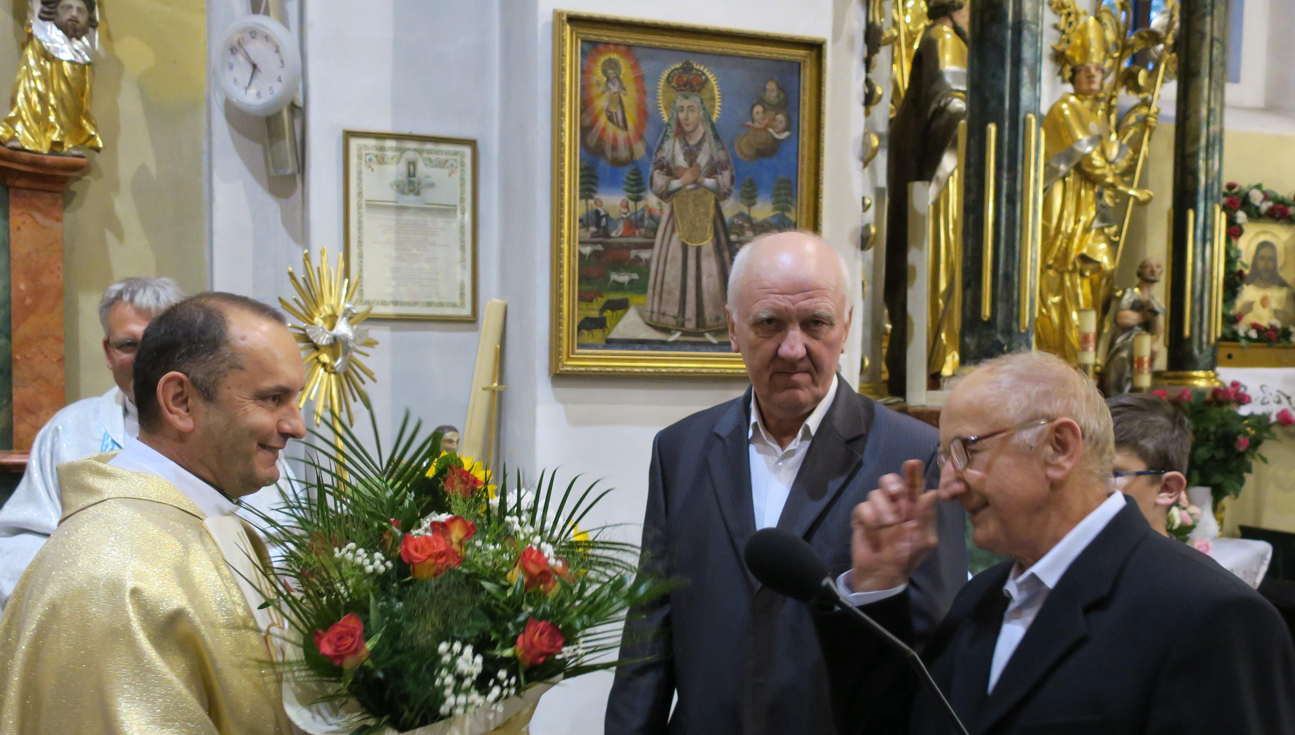 Powitanie ks.Bogdana – nowego Proboszcza